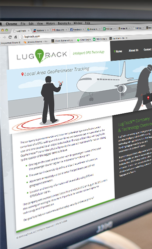 lugtrack web site design branding and identity