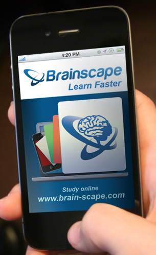 Brainscape iPhone App and website